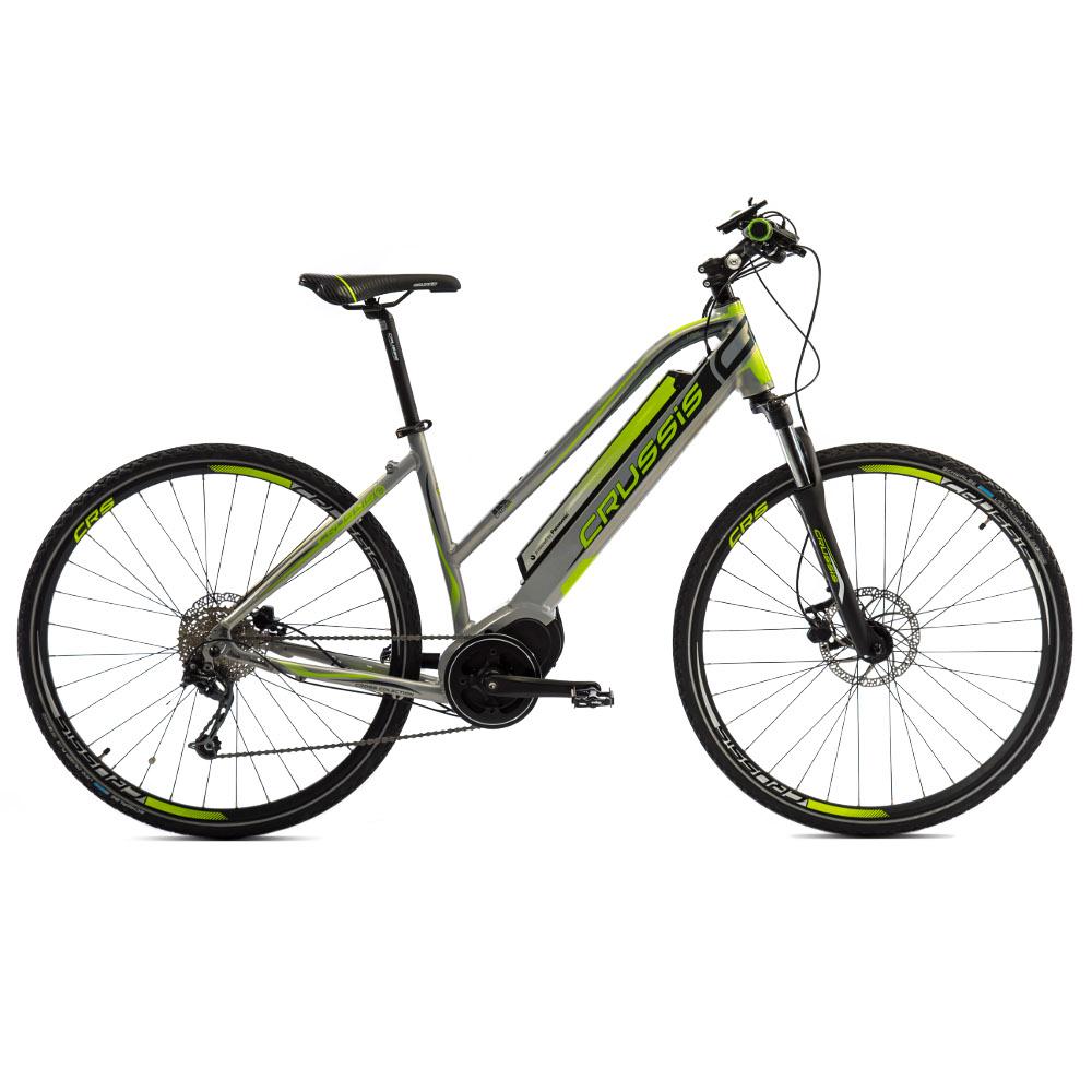 Dámsky crossový elektrobicykel Crussis e-Cross Lady 7.4 - model 2019 - Záruka 10 rokov