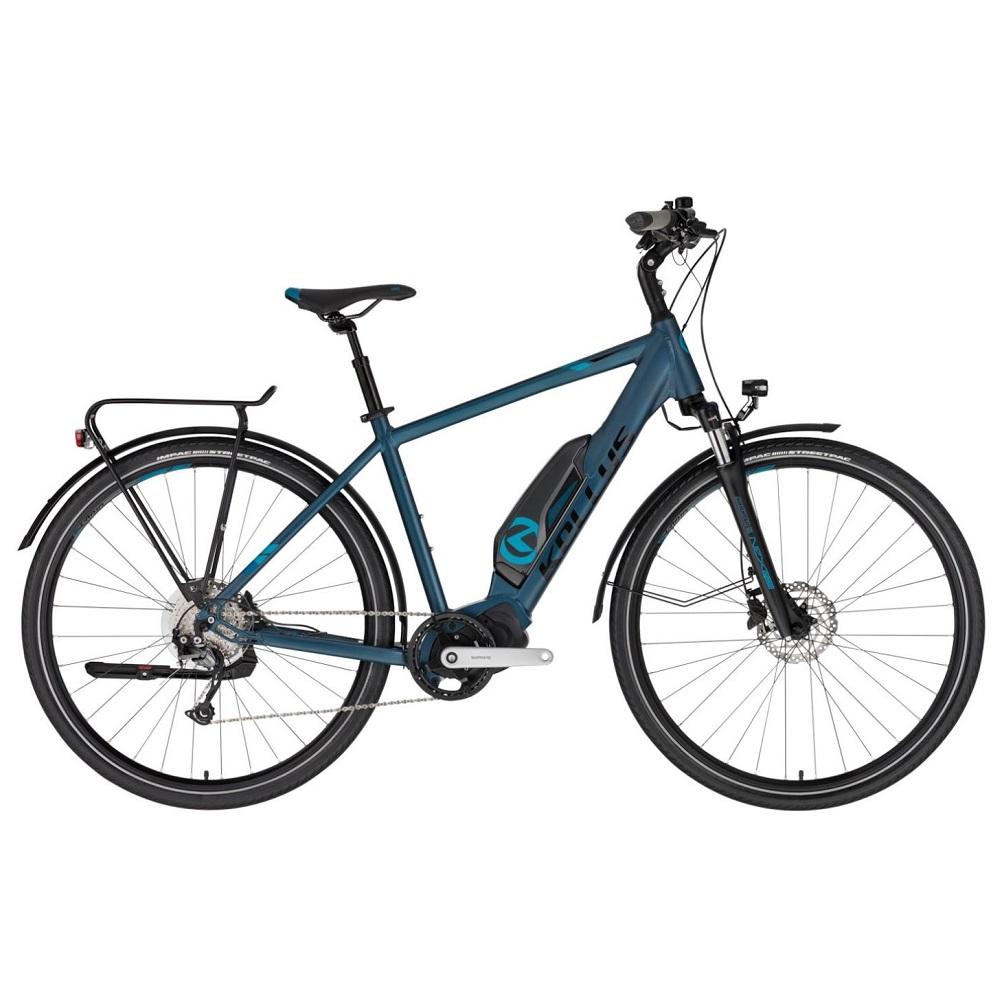 "Trekingový elektrobicykel KELLYS E-Carson 50 28"" - model 2020 blue - M (19'') - Záruka 10 rokov"