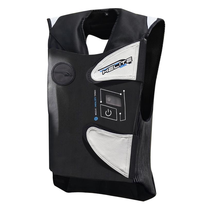 Závodná airbagová vesta Helite e-GP Air