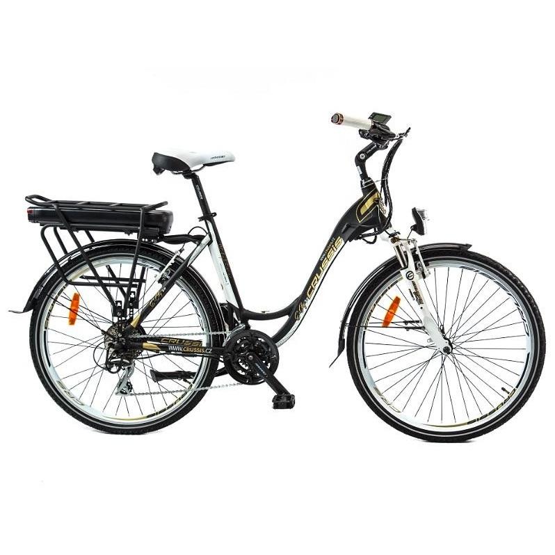 """Mestský elektrobicykel Crussis e-City 5.4 19"""" - Záruka 10 rokov"""