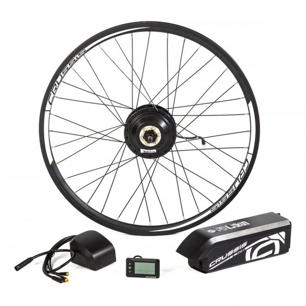 """Elektrosada CRUSSIS pre 26"""" bicykel, diskové brzdy, rámová batéria"""