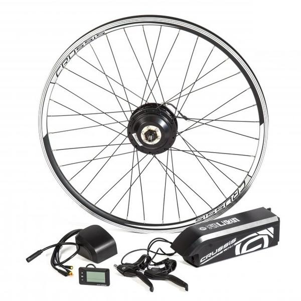 """Elektrosada CRUSSIS pre 28/29"""" bicykle, V-brzdy, rámová batéria"""