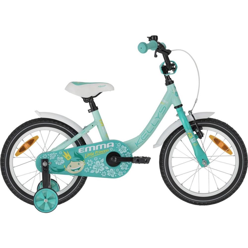 "Detský bicykel KELLYS EMMA 16"" - Model 2020 Menthol - Záruka 10 rokov"