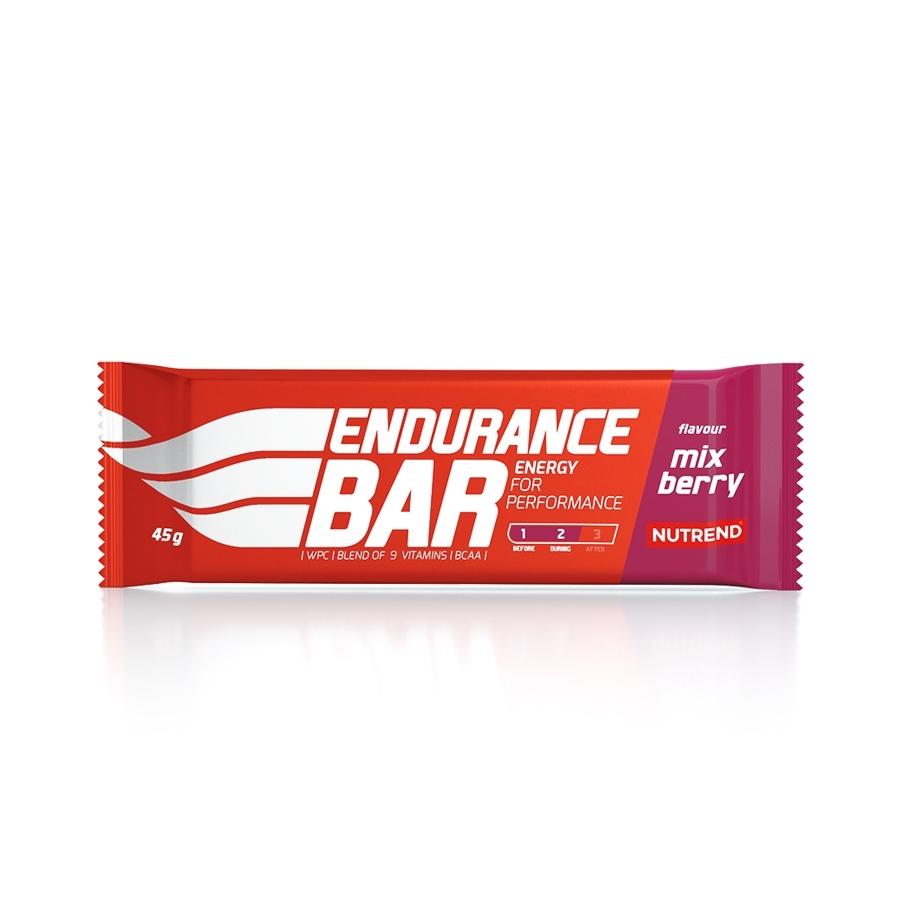 Energetická tyčinka Nutrend Endurance Bar 45 g karamel
