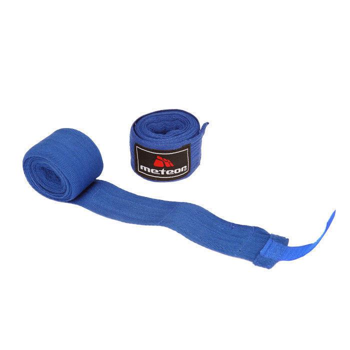 Boxerská bandáž Meteor 3m modrá
