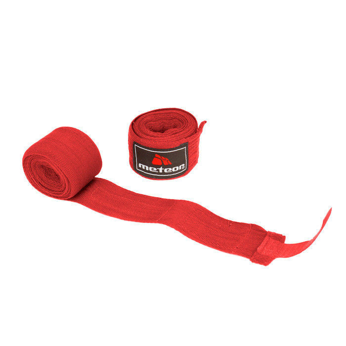 Boxerská bandáž Meteor 4m červená