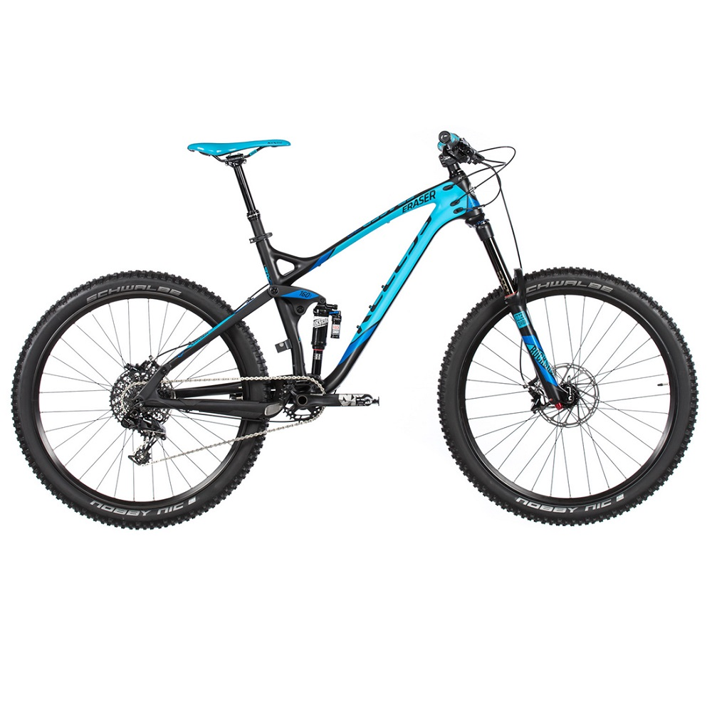 Celoodpružený bicykel KELLYS ERASER 70 27,5