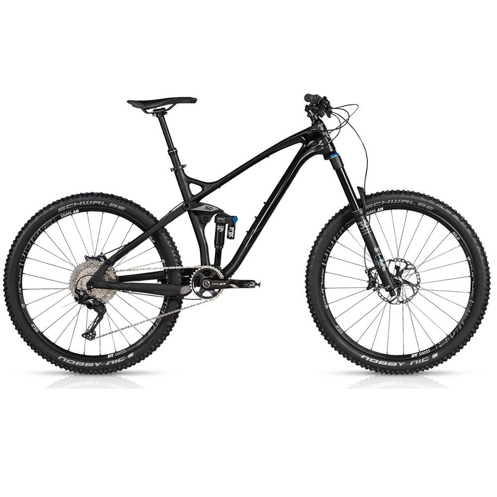 "Celoodpružený bicykel KELLYS ERASER 90 27,5"" - model 2017 S - Záruka 10 rokov"