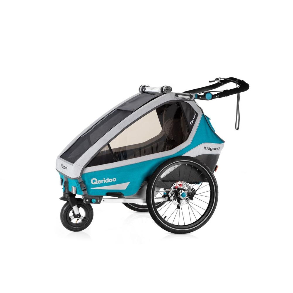 Multifunkčný detský vozík Qeridoo KidGoo 1 Sport Petrol Blue