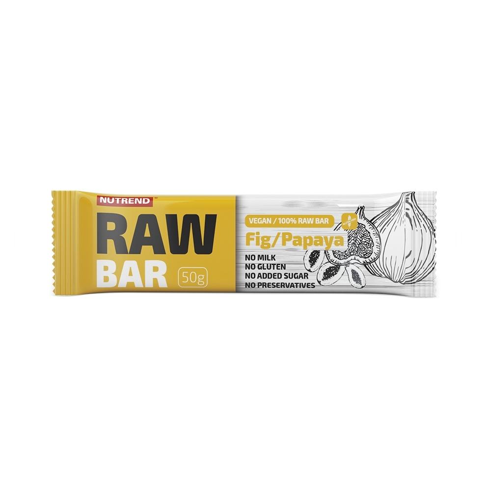 Tyčinka Nutrend Raw Bar 50 g figa+papája