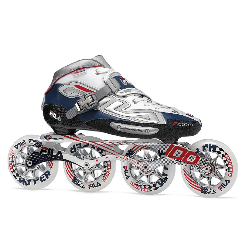 Rýchlostné kolieskové korčule Fila F100 42,5
