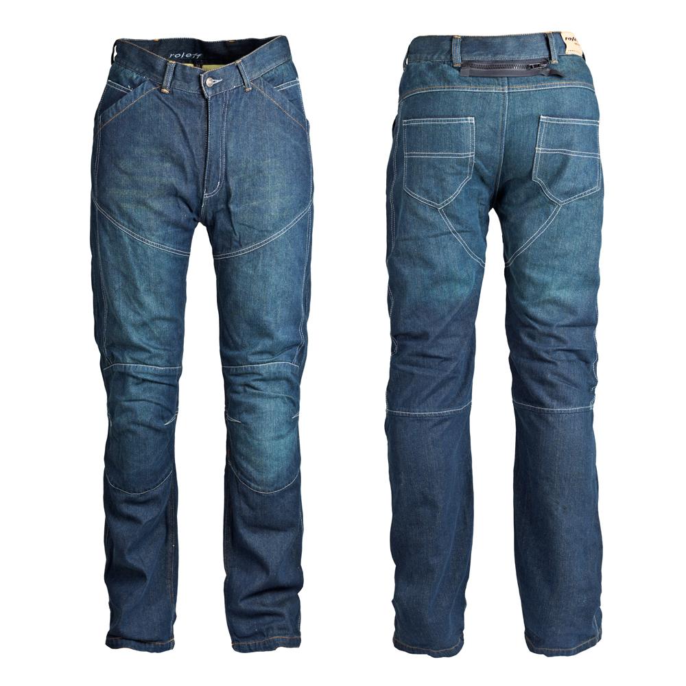 Motocyklové jeansy ROLEFF Kevlar