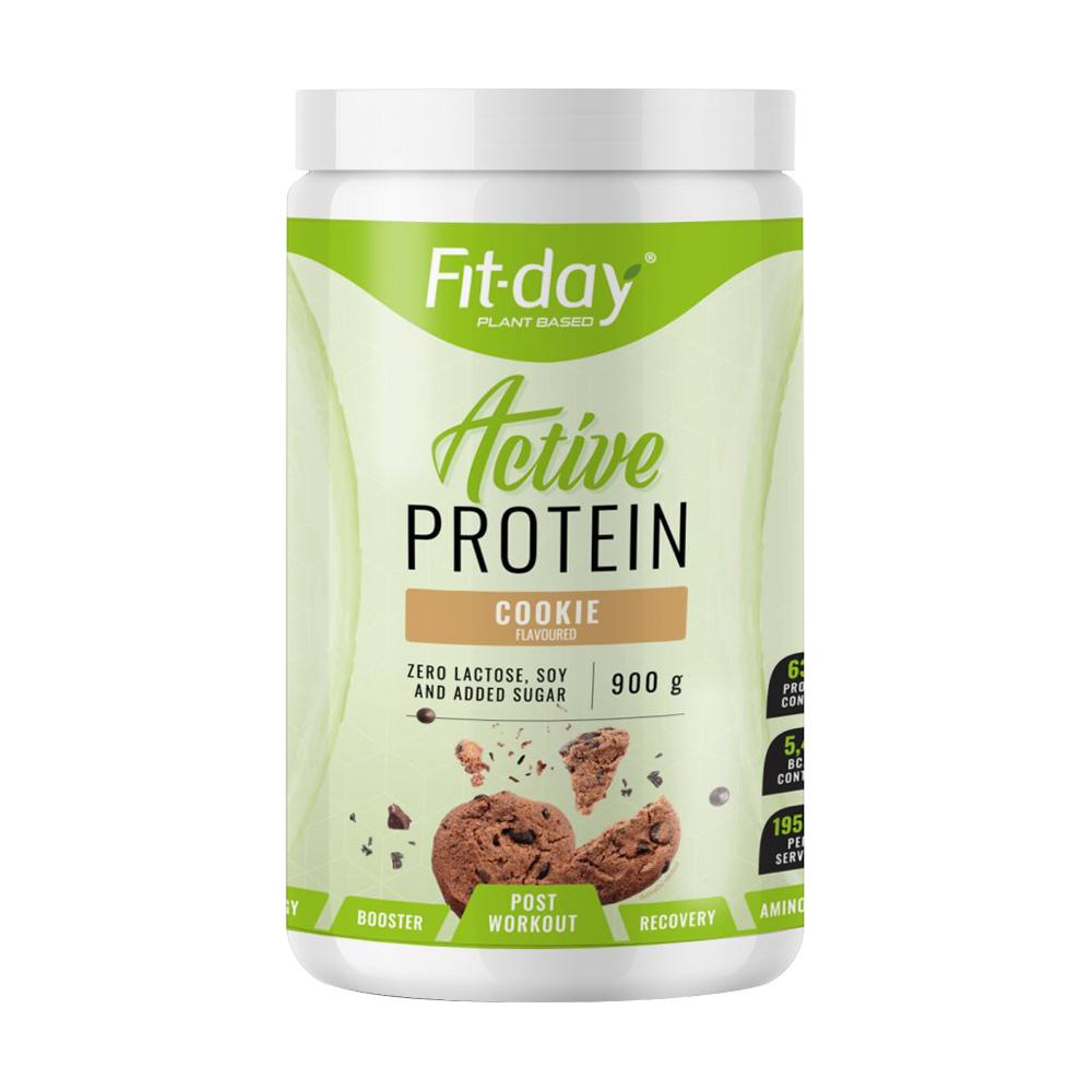 Proteínový nápoj Fit-day Protein Active 900 g cookie