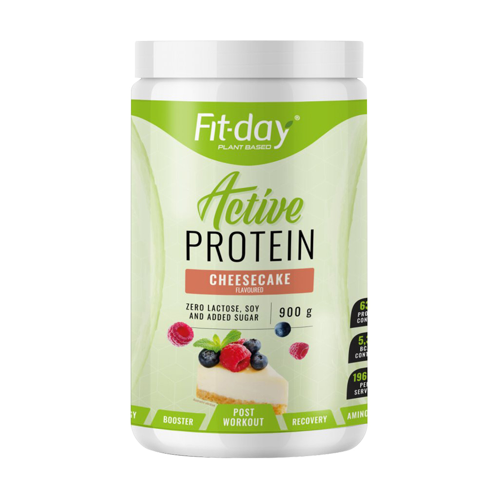 Proteínový nápoj Fit-day Protein Active 900 g cheesecake