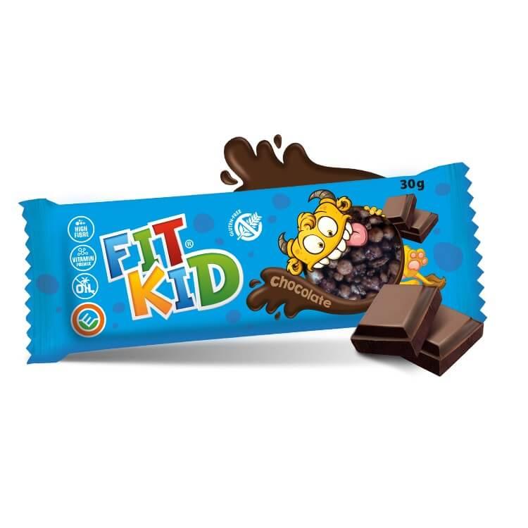 Tyčinka pre deti MAX SPORT Fit Kid 30g čokoláda