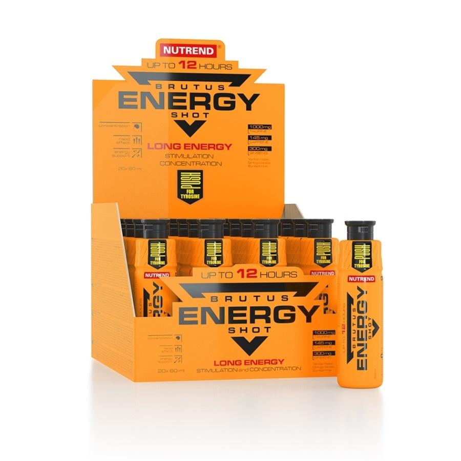 Stimulant výkonu Nutrend Brutus Energy Shot 20x60 ml