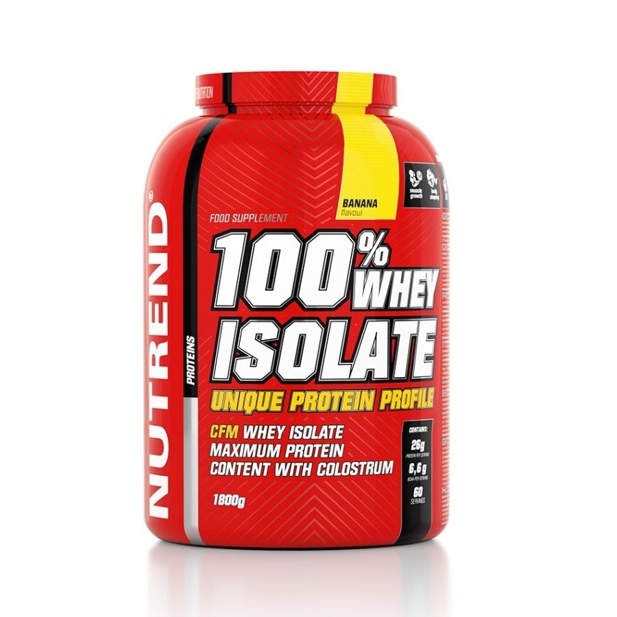Práškový koncentrát Nutrend 100% WHEY Isolate 1800g čokoláda