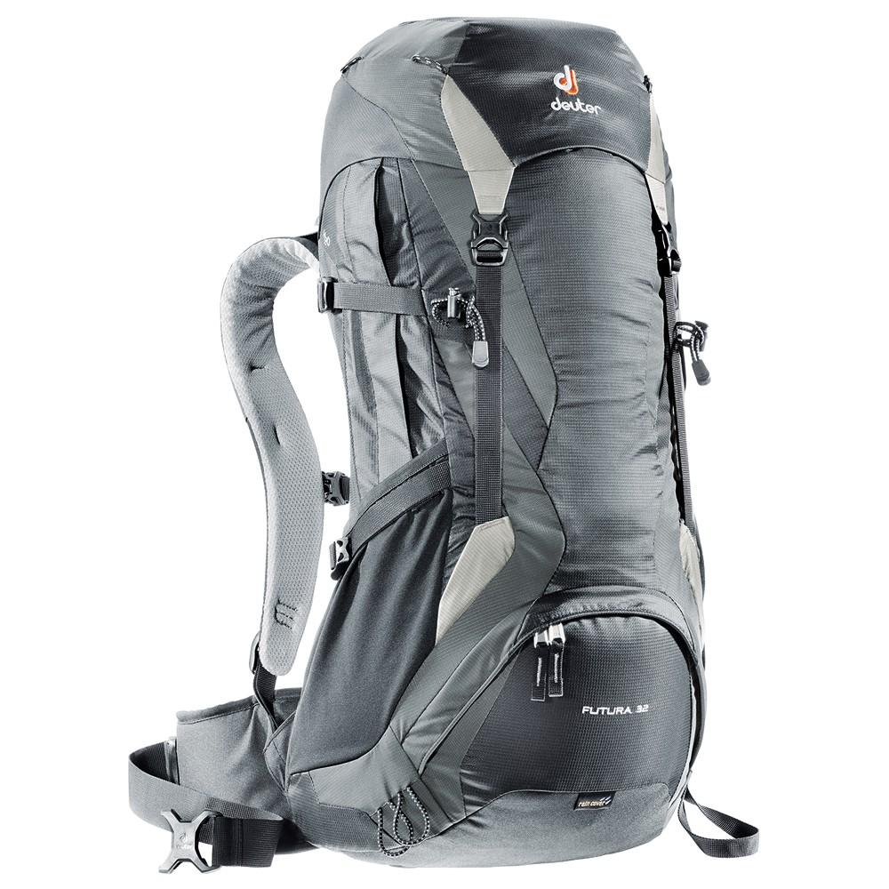 Turistický batoh DEUTER Futura 32 čierno-šedá