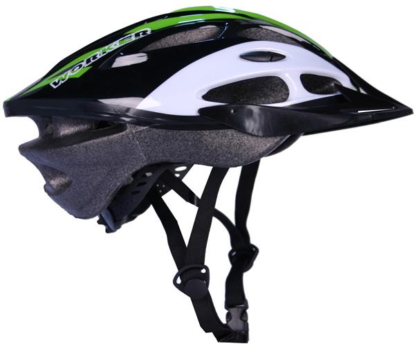 Cyklistická prilba WORKER Gladiator zelená - S (50-52)