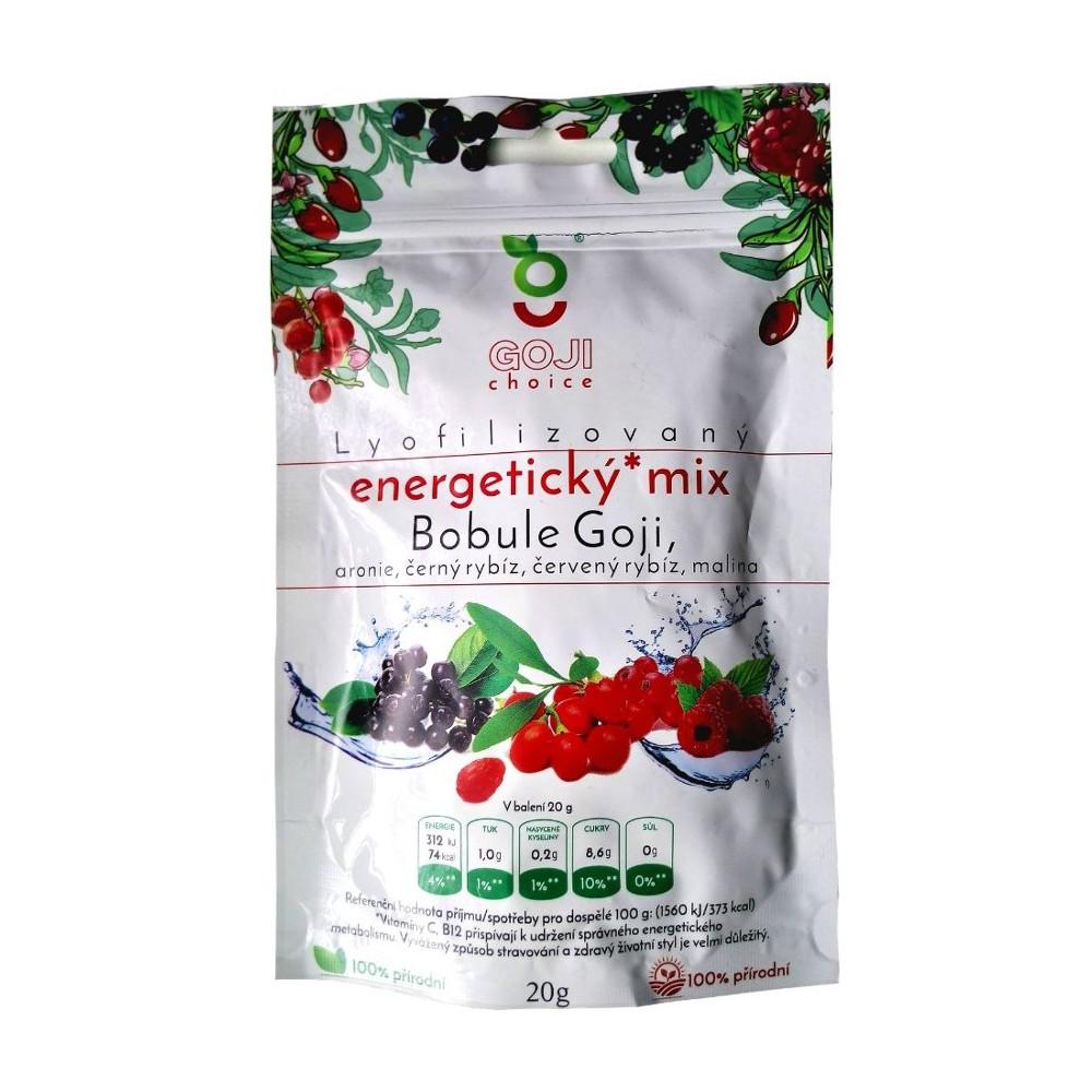 Energetický mix lyofilizované ovocie Goji Choice 20 g