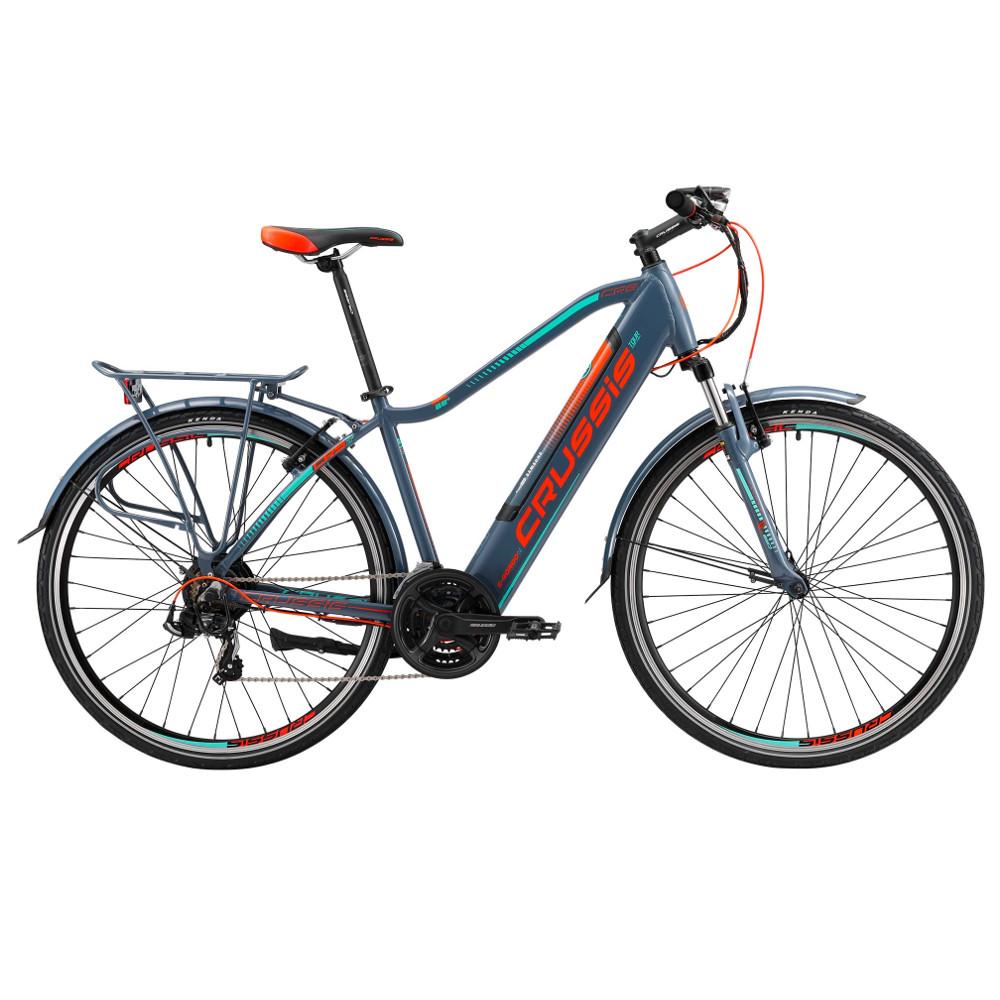 """Pánsky trekingový elektrobicykel Crussis e-Gordo 1.4 - model 2019 18"""" - Záruka 10 rokov"""