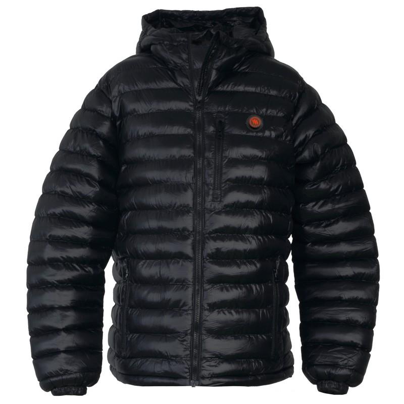 Pánska vyhrievaná bunda Glovii GTM čierna - XL