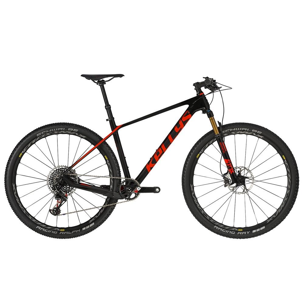 "Horský bicykel KELLYS HACKER 90 29"" - model 2020 S (16,5"") - Záruka 10 rokov"