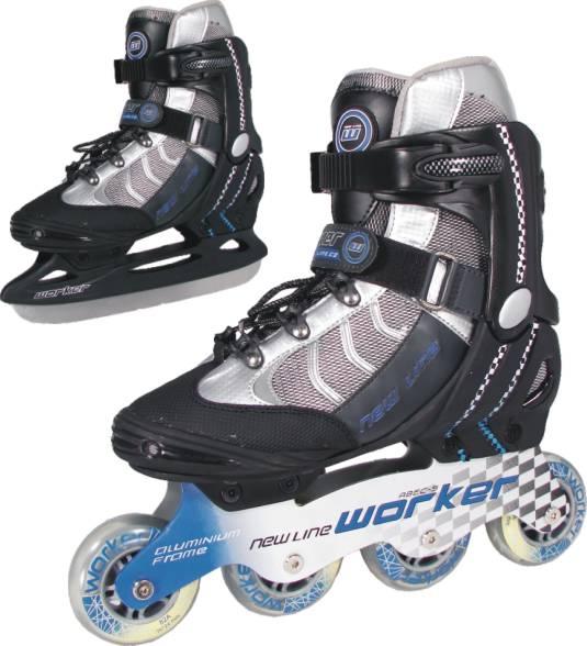 Univerzálne korčule WORKER NEW LINE - výpredaj