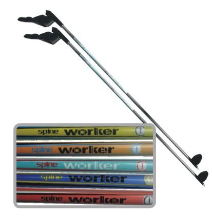 Bežecké palice WORKER SPINE 125 cm