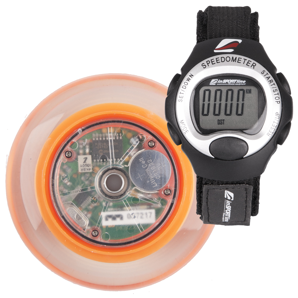 Tachometer na in-line korčule inSPORTline SPEED