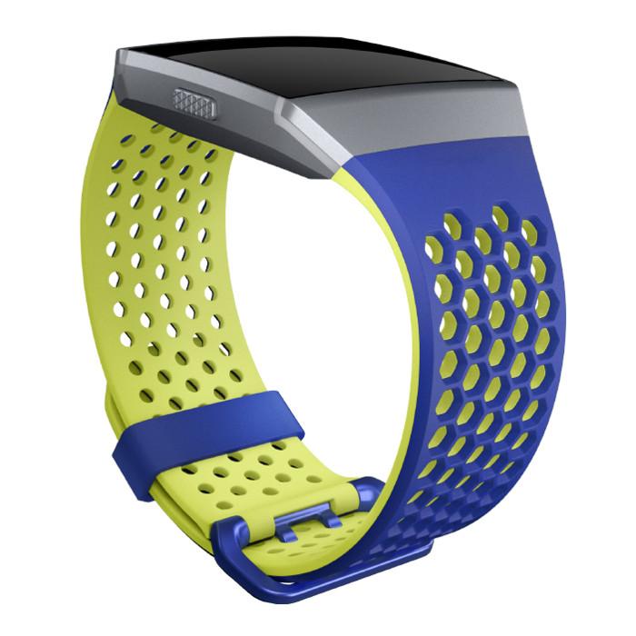Náhradný remienok Fitbit Ionic Cobalt/Lime L