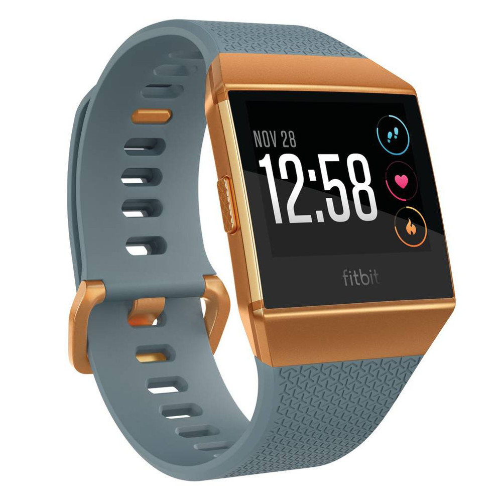 Inteligentné hodinky FITBIT Ionic Slate Blue/Burnt Orange