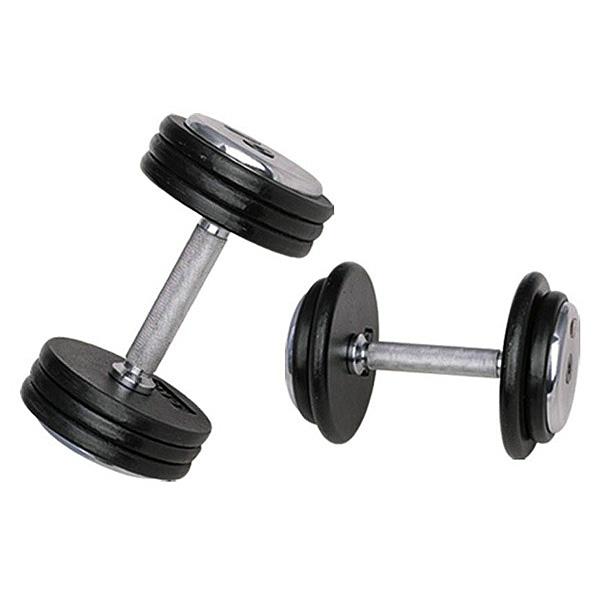 Jednoručná činka inSPORTline ProfiST 45 kg