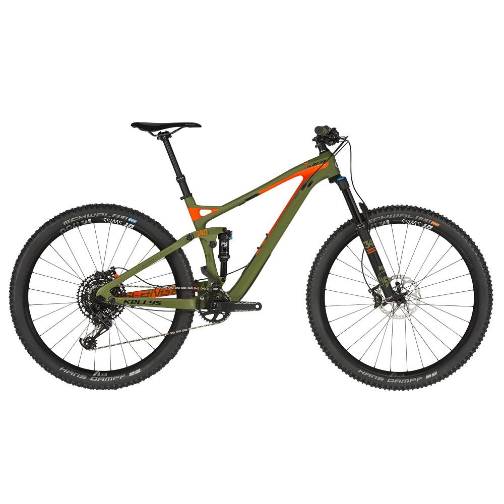 """Celoodpružený bicykel KELLYS SLANGER 50 29"""" - model 2019 S (15,5"""") - Záruka 10 rokov"""