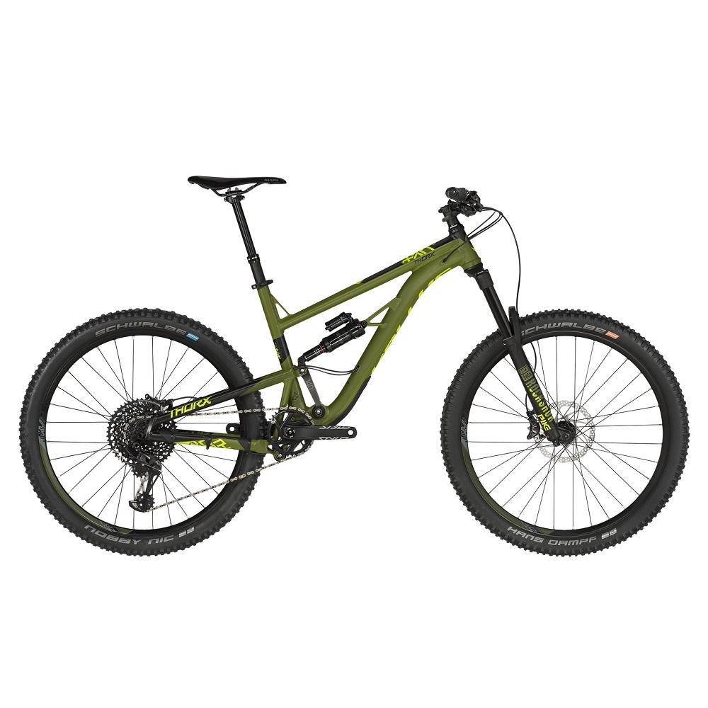 "Celoodpružený bicykel KELLYS THORX 50 27,5"" - model 2019 L (19"") - Záruka 10 rokov"