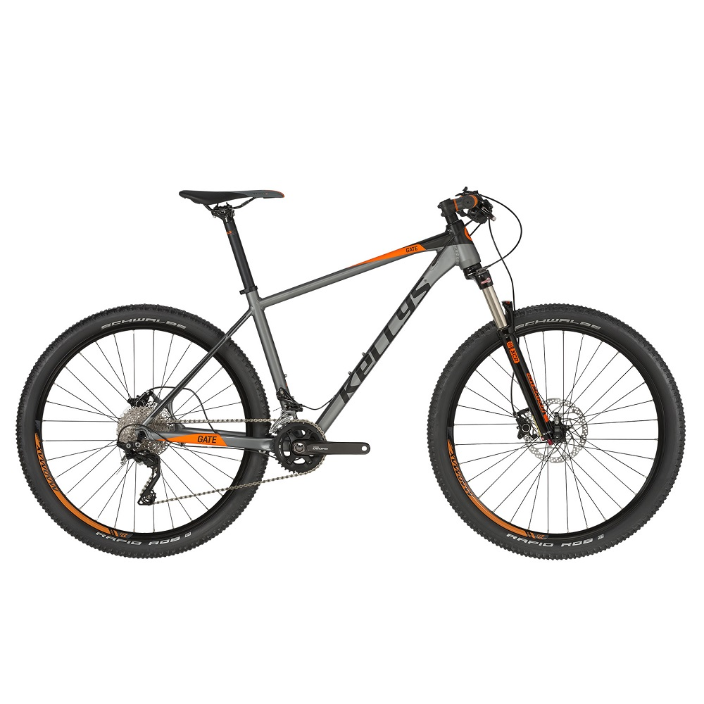 "Horský bicykel KELLYS GATE 30 27,5"" - model 2019 S (16,5"") - Záruka 10 rokov"