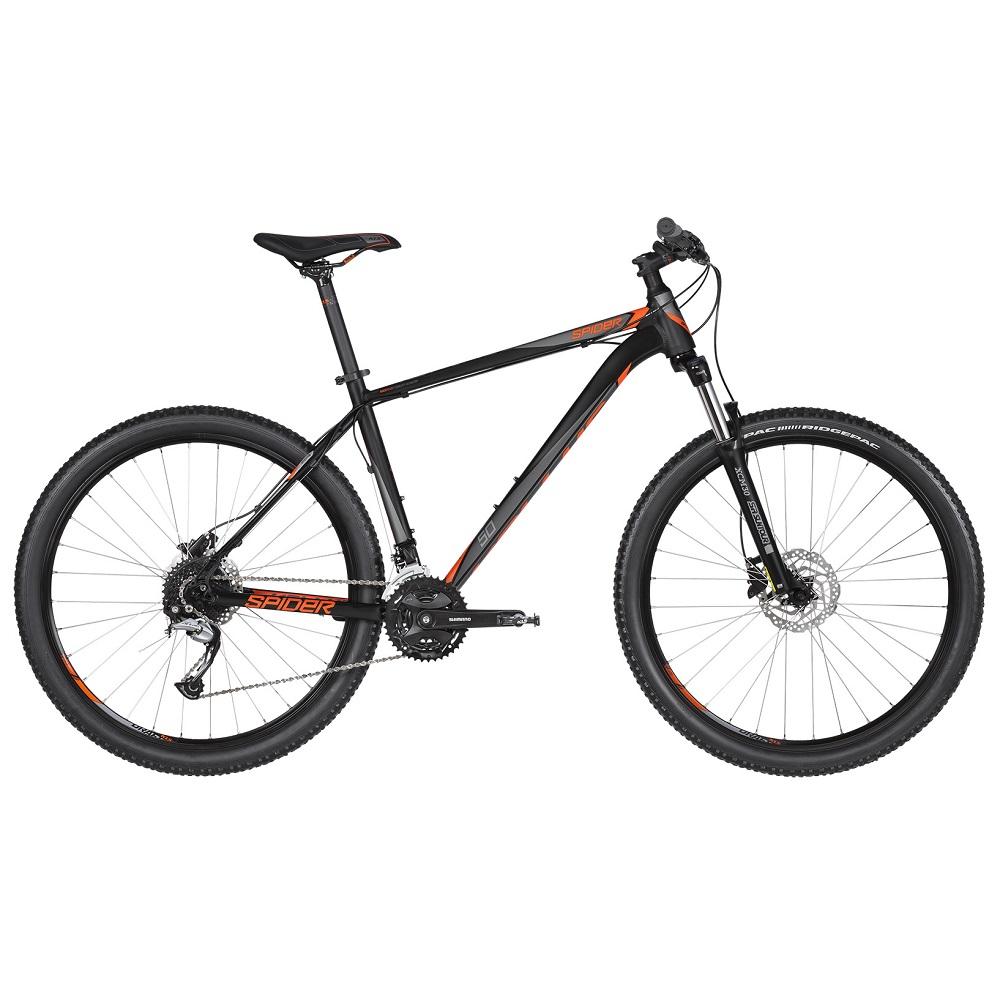 """Horský bicykel KELLYS SPIDER 50 27,5"""" - model 2019 Black Orange - XS (15"""") - Záruka 10 rokov"""