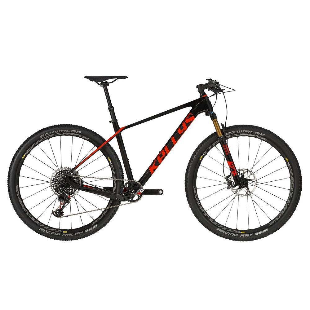 "Horský bicykel KELLYS HACKER 90 29"" - model 2019 S (16,5"") - Záruka 10 rokov"