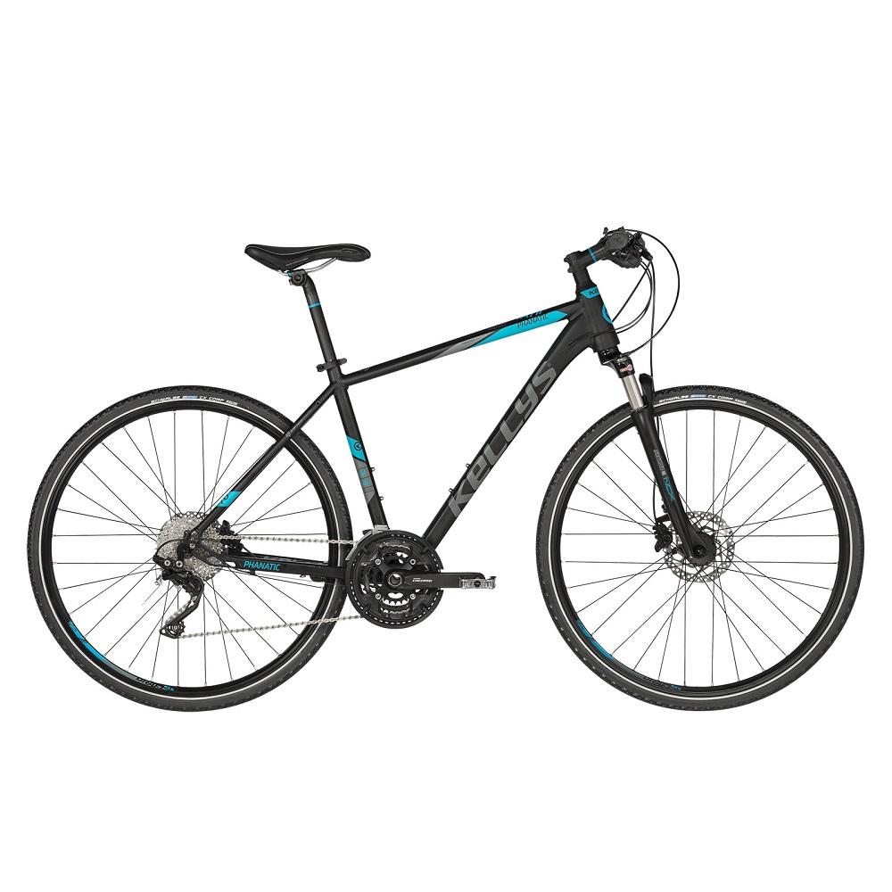 """Pánsky crossový bicykel KELLYS PHANATIC 70 28"""" - model 2019 M (19'') - Záruka 10 rokov"""