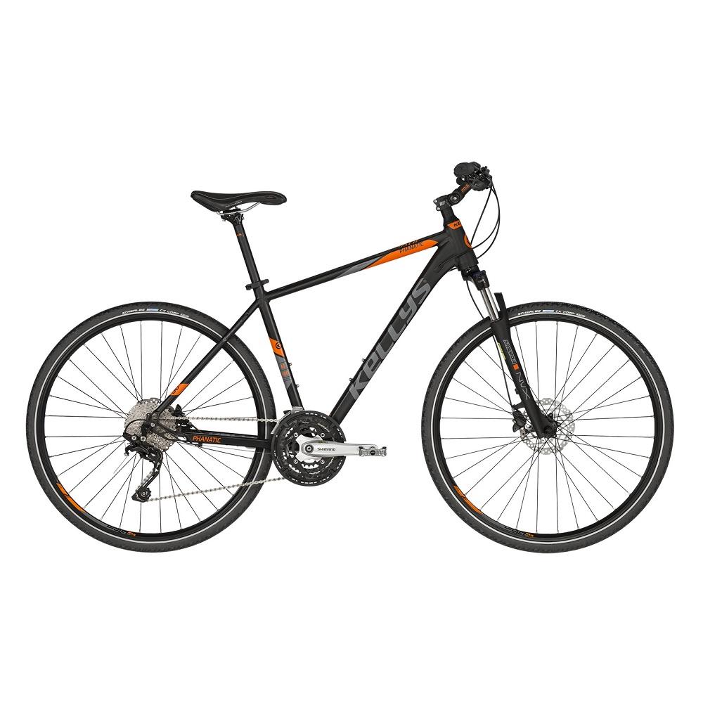 """Pánsky crossový bicykel KELLYS PHANATIC 50 28"""" - model 2019 S (17'') - Záruka 10 rokov"""