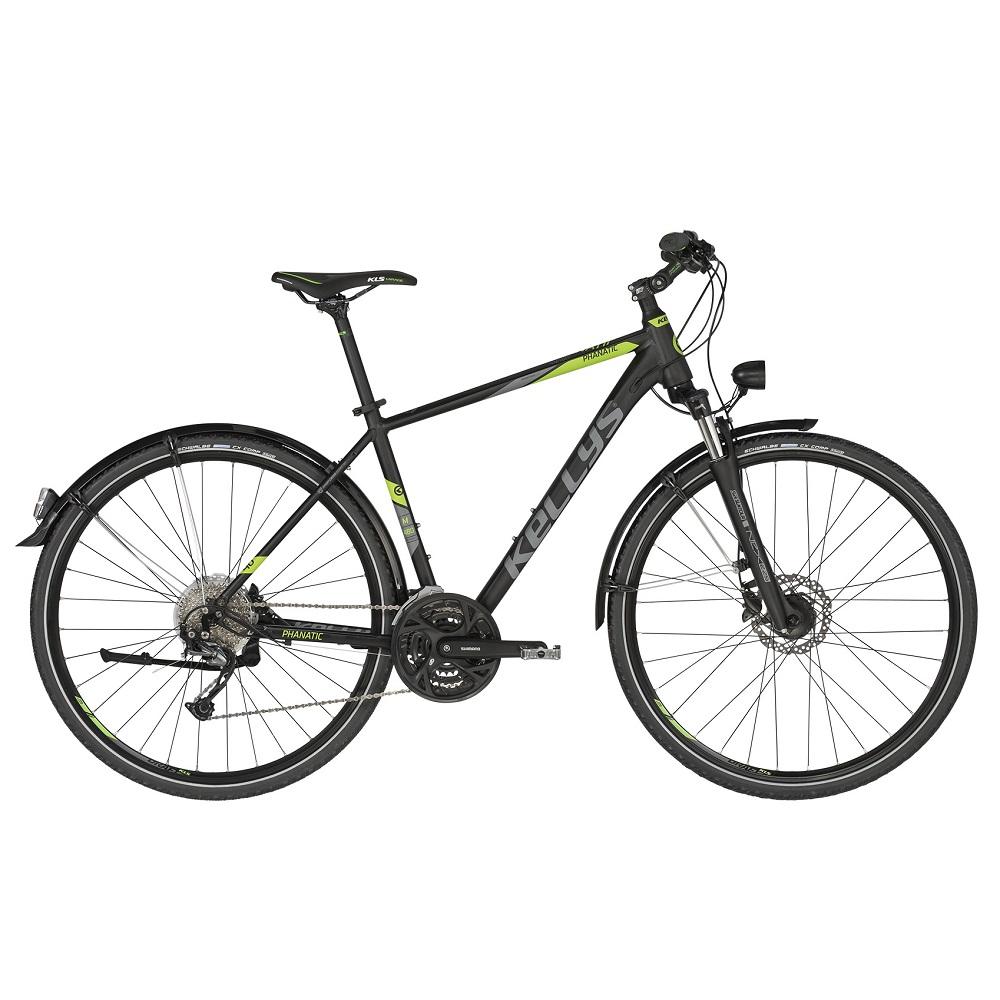 """Pánsky trekingový bicykel KELLYS PHANATIC 40 28"""" - model 2019 S (17'') - Záruka 10 rokov"""
