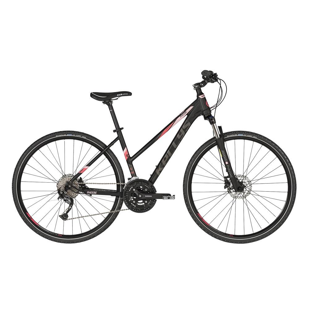 """Dámsky crossový bicykel KELLYS PHEEBE 30 28"""" - model 2020 Dark Pink - S (17'') - Záruka 10 rokov"""