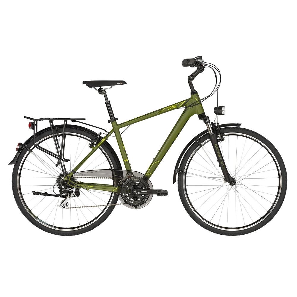 """Pánsky trekingový bicykel KELLYS CARSON 50 28"""" - model 2019 M (19'') - Záruka 10 rokov"""