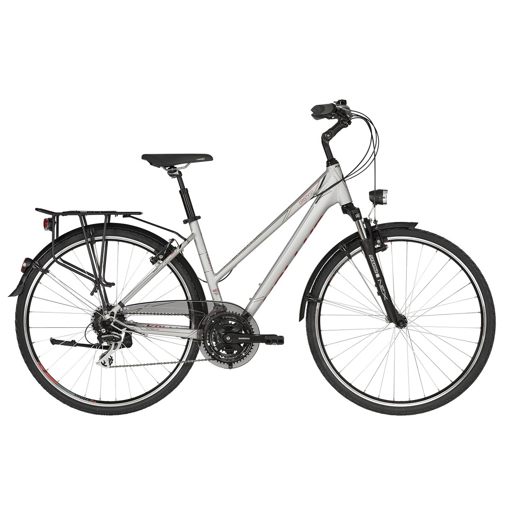 "Dámsky trekingový bicykel KELLYS CRISTY 50 28"" - model 2019 M (18"") - Záruka 10 rokov"