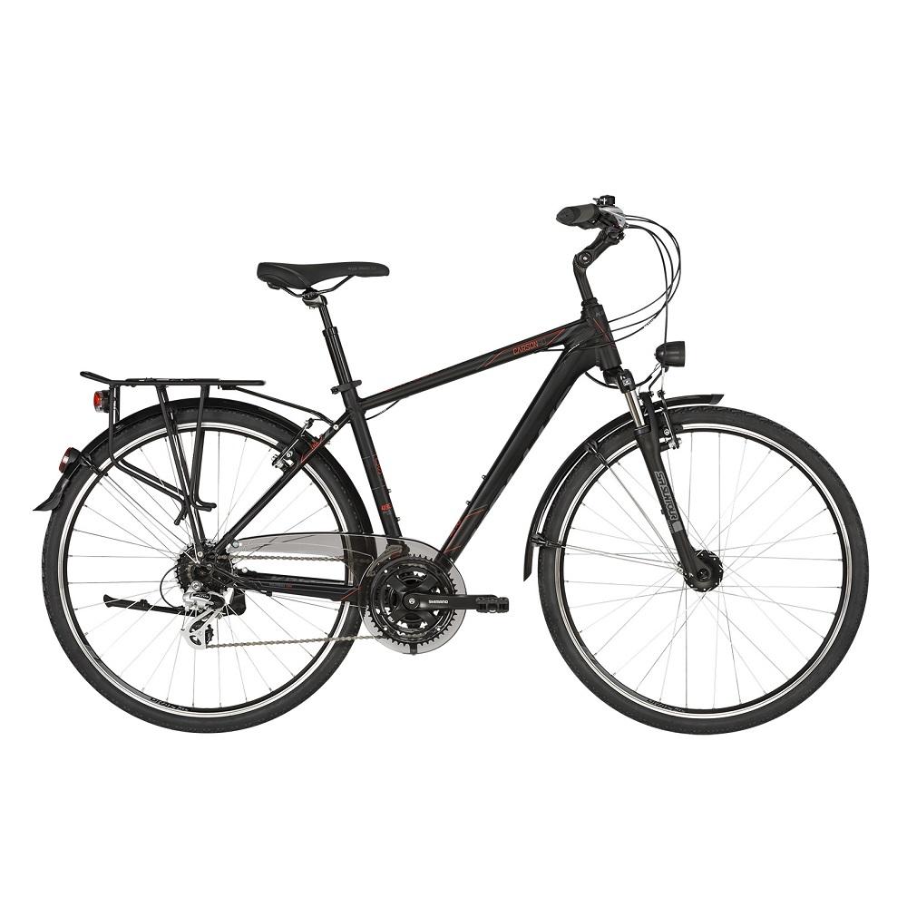 """Pánsky trekingový bicykel KELLYS CARSON 40 28"""" - model 2019 S (17'') - Záruka 10 rokov"""