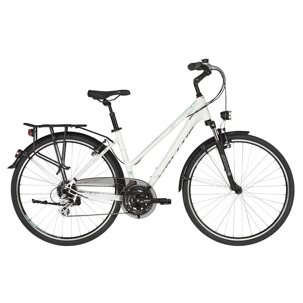 "Dámsky trekingový bicykel KELLYS CRISTY 30 28"" - model 2019 S (16.5"") - Záruka 10 rokov"