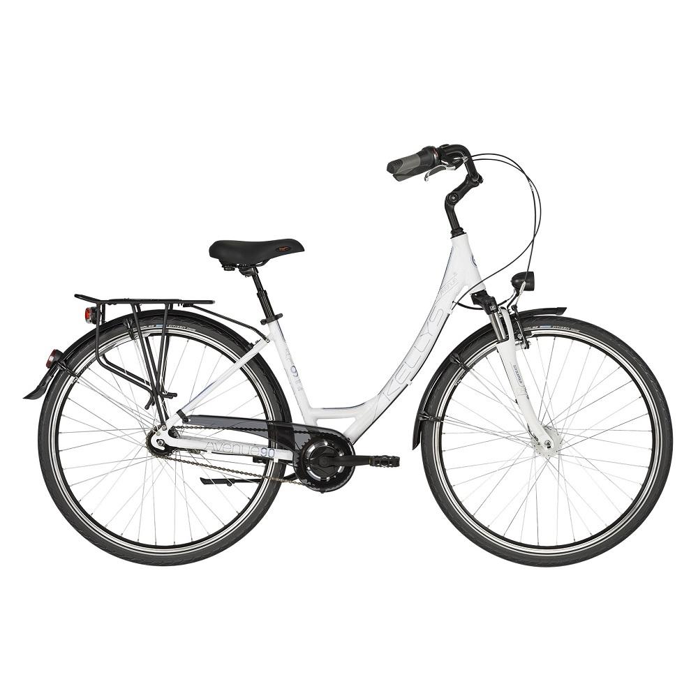 """Dámsky mestský bicykel KELLYS AVENUE 90 28"""" - model 2019 430 mm (17"""") - Záruka 10 rokov"""