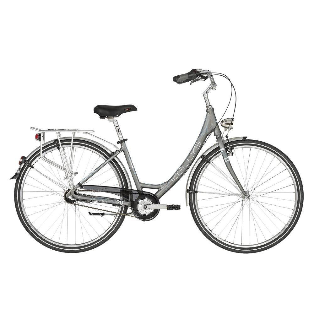 "Dámsky mestský bicykel KELLYS AVENUE 20 28"" - model 2019 17"" - Záruka 10 rokov"