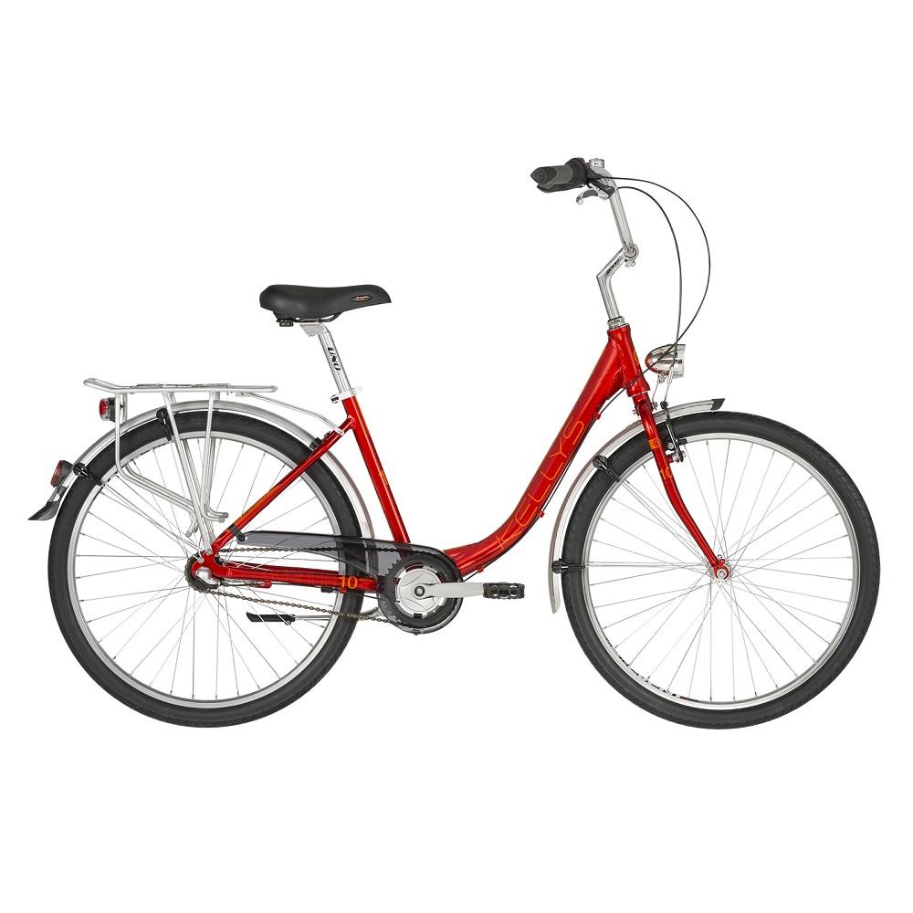 "Dámsky mestský bicykel KELLYS AVENUE 10 26"" - model 2019 - Záruka 10 rokov"
