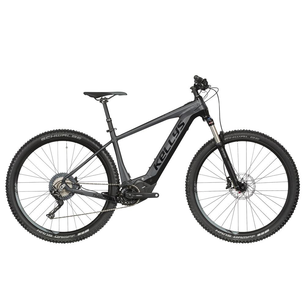 """Horský elektrobicykel KELLYS TYGON 50 27,5"""" - model 2019 Black - S (15,5"""") - Záruka 10 rokov"""